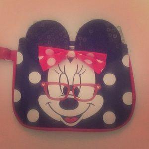 Minnie Mouse Wristlet♥️